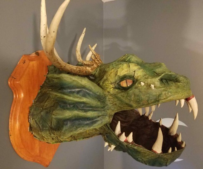 Peter Marinelli's Seaweed Dragon
