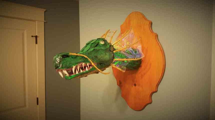 Ben Juenger's dragon