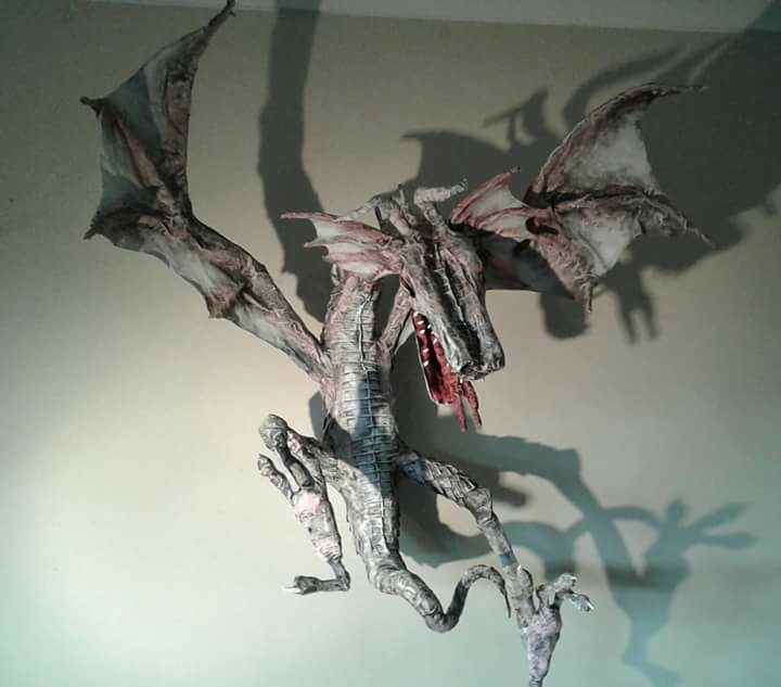 Brenda Nyhof's dragon