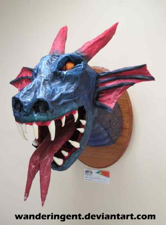 Eddie Sheffield's dragon