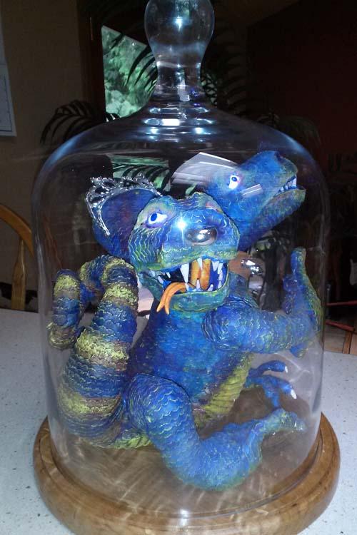 Janet Roberts in jar