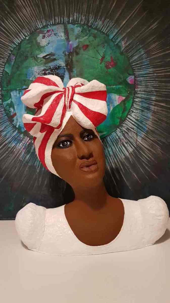 agnes orban paper mache lady2