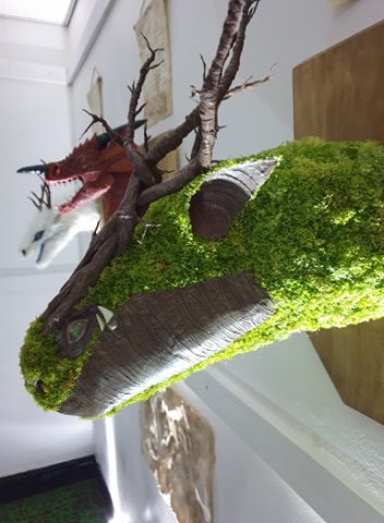 Ffion Caines paper mache trophy2