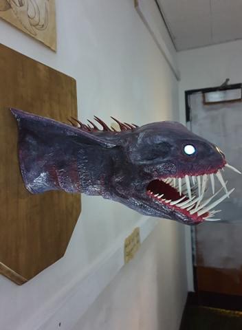Ffion Caines paper mache trophy5