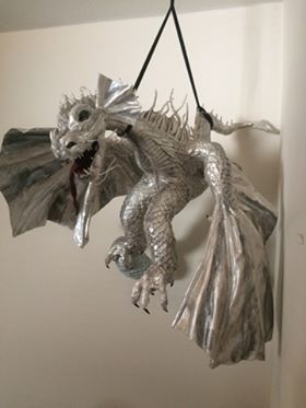 Janet Davison's second dragon