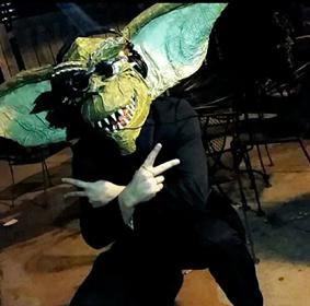 Nipsolass Clark - gremlin mask