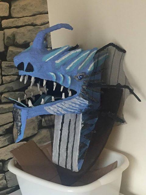 Alan Faunch's paper mache trophy2