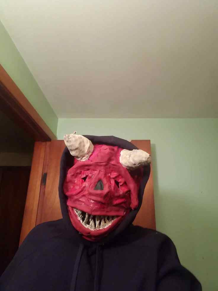 John Lo Piccolo Demon Mask