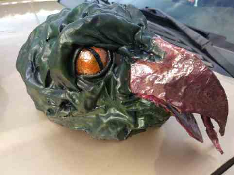 Sarah Reynolds' mask bird