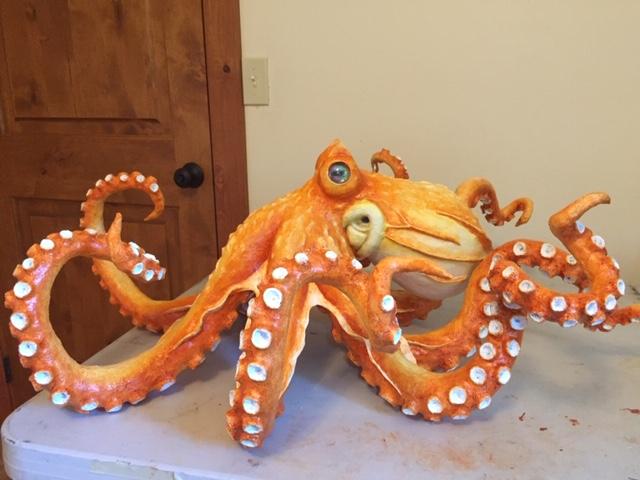Cindy Williams octopus