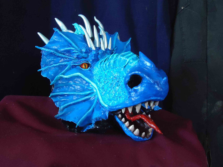 Carmen martin's Blue dragon