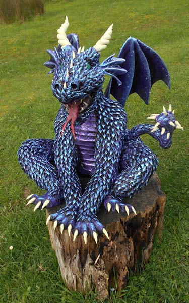 Cheri Rose blue dragon