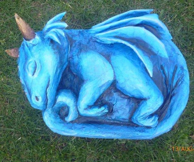 Cheri Rose sleeping dragon