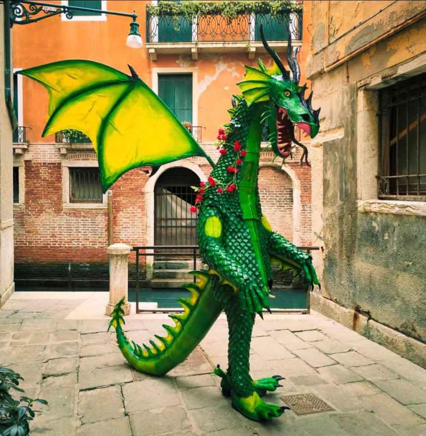 Daniele Pons Venice Carnival 2020 (Italy) SAN GIORGIO E IL DRAGO