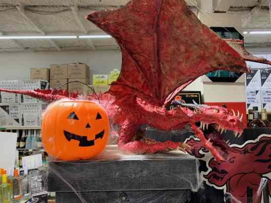 David Angelo's dragon