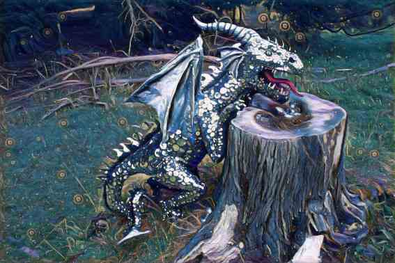 Dragon in the forest-Cheri Rose
