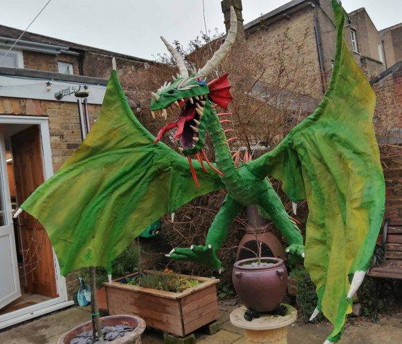 Andy Slater's dragon