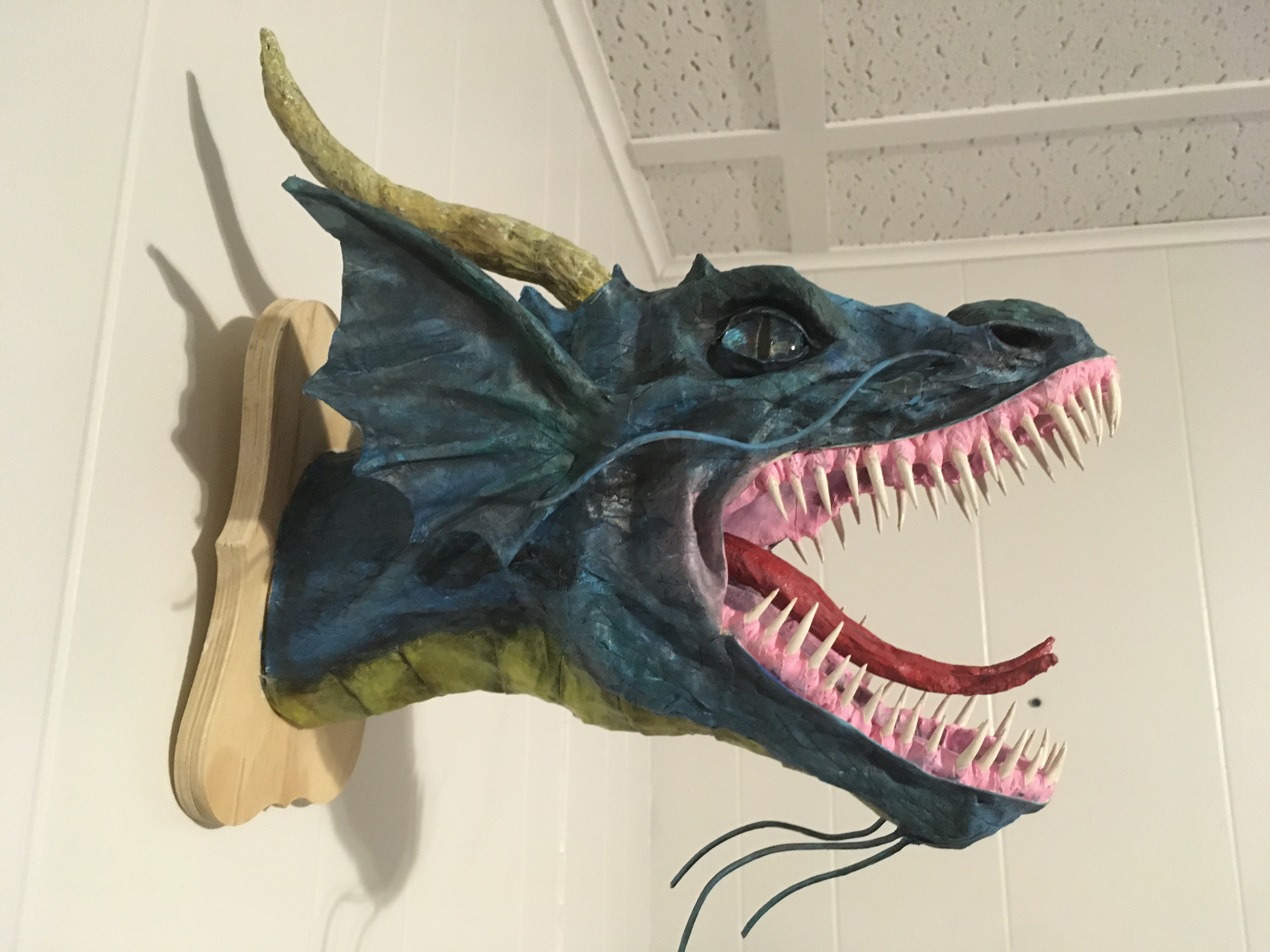 Cass Gordon blue dragon