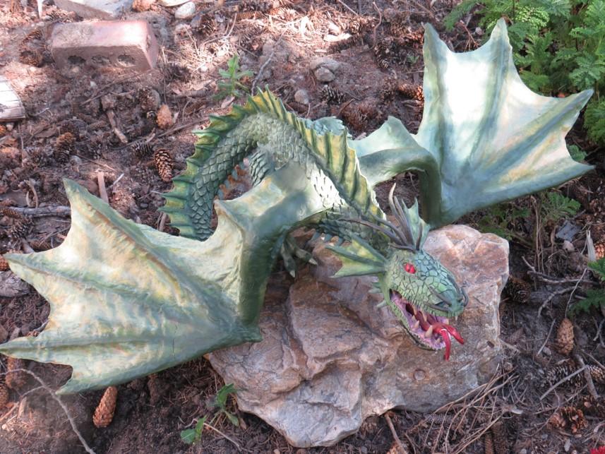 Duane Berry's green dragon