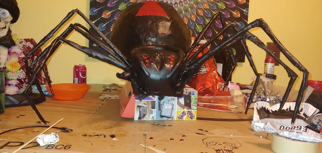 giant black widow- eric garard