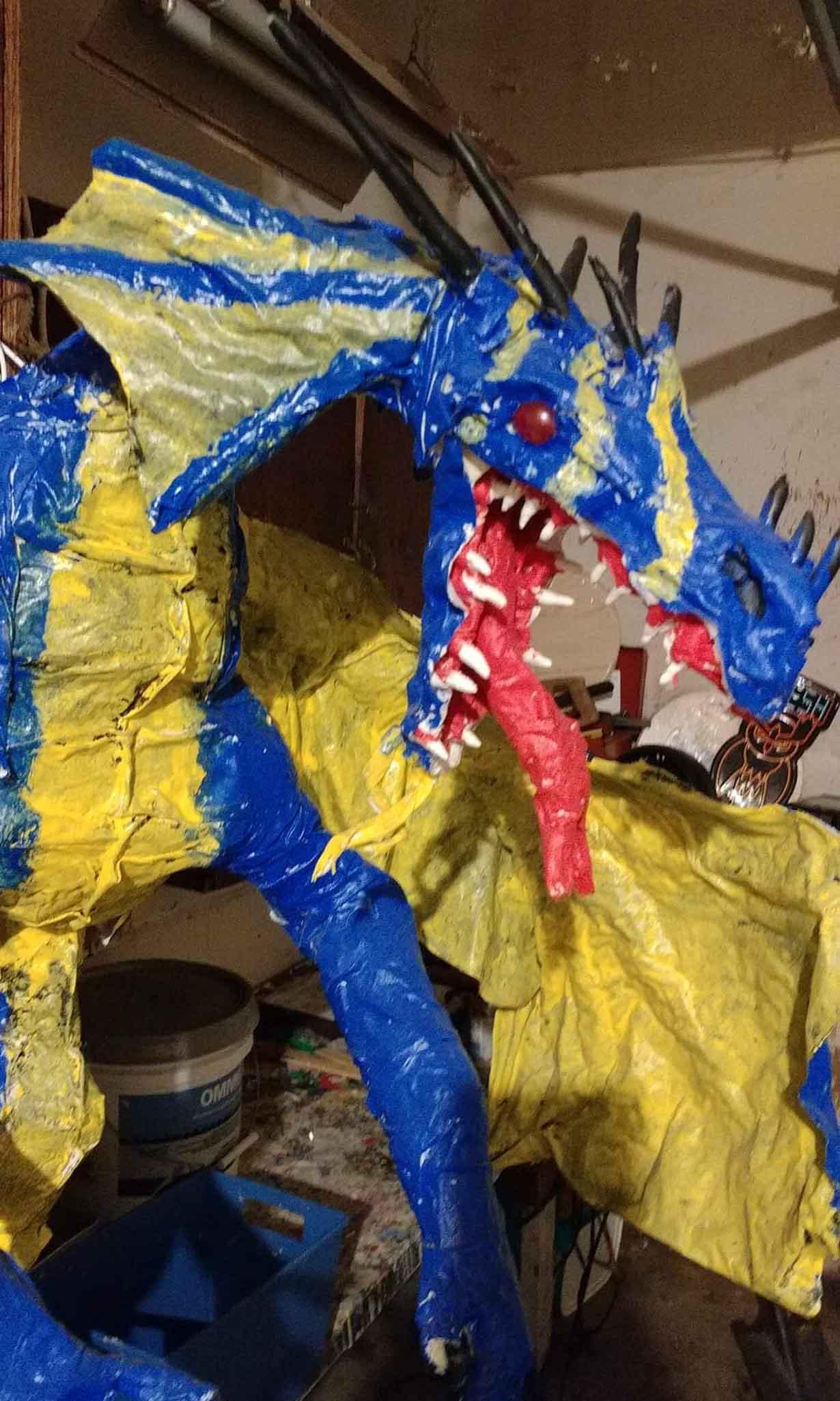 Lynette blue dragon